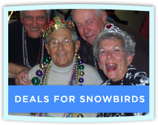Deals for Snowbirds